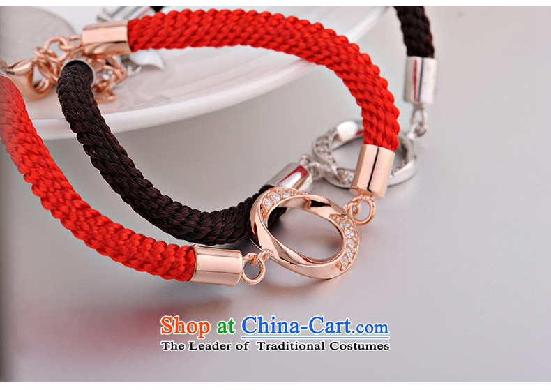 The United States and 925 silver bracelet couples red couples ornaments are accompanied by a couple hand chain women - Chinese red picture, prices, brand platters! The elections are supplied in the national character of distribution, so action, buy now enjoy more preferential! As soon as possible.