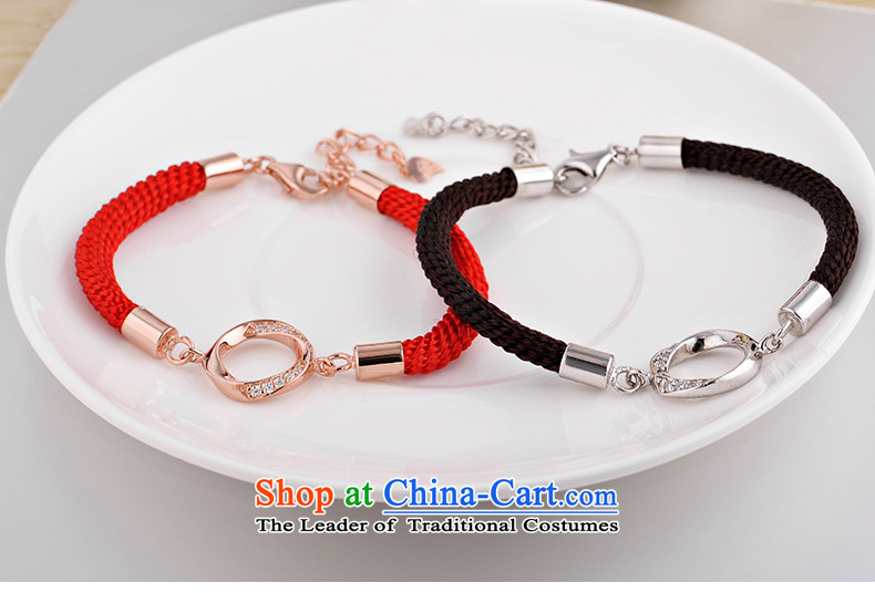 Maomao 925 silver bracelet couples red couples ornaments are accompanied by a couple hand chain women - Chinese red picture, prices, brand platters! The elections are supplied in the national character of distribution, so action, buy now enjoy more preferential! As soon as possible.