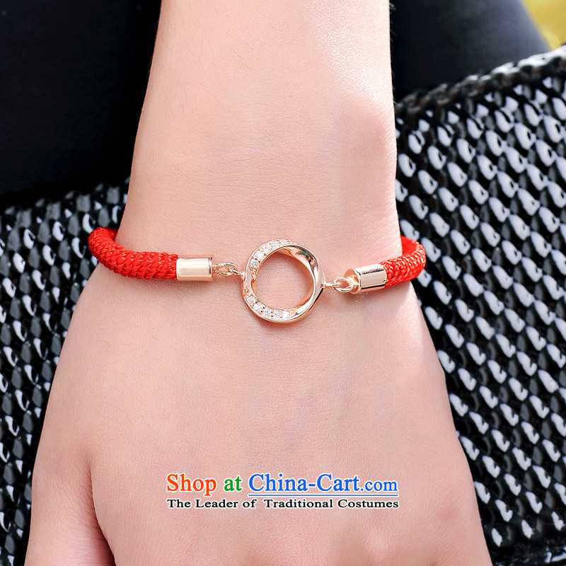 Jpf 925 silver bracelet couples red couples ornaments are accompanied by a couple hand chain women - Chinese red ,JPF,,, shopping on the Internet