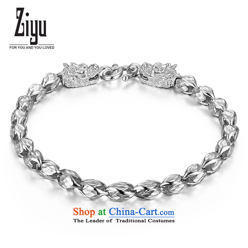 In case of China wind leading first 925 silver engraving Jewelry Ornaments stylish jewelry boys men hand chain weight approximately10 gram