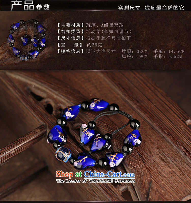 Ethnic glass agate jewelry female ancient style hand chain girls sweet hand string Stylish retro accessories picture, prices, brand platters! The elections are supplied in the national character of distribution, so action, buy now enjoy more preferential! As soon as possible.