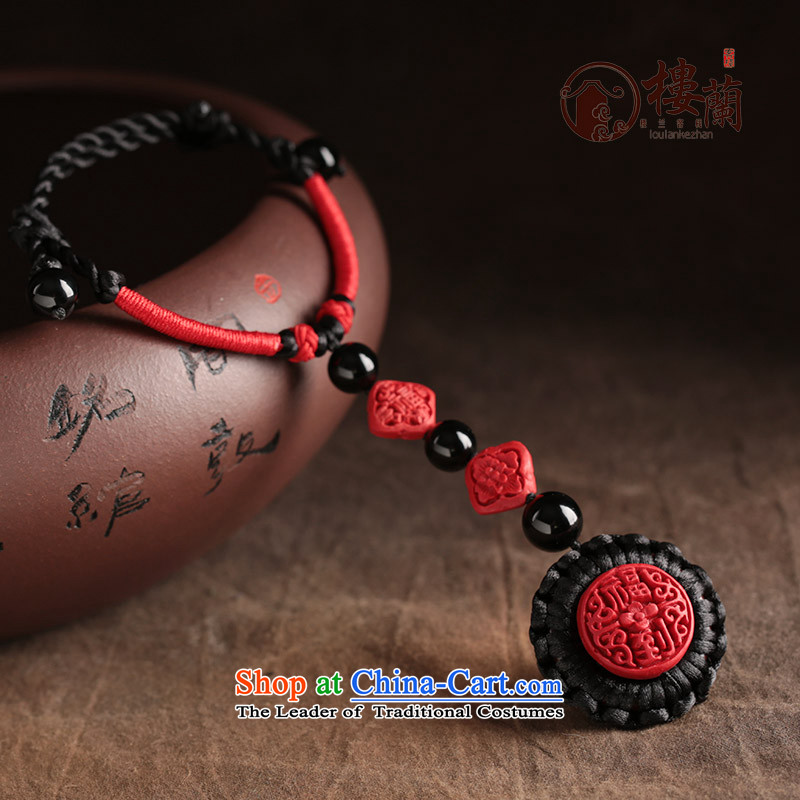 Paint carved ethnic hand link rings integration link this year by order of the Board China wind red back link female finger circumference size net 5.5 cm