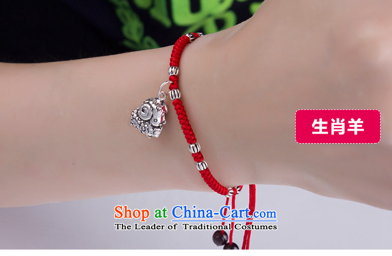 Gde 925 silver Red Hand chain female zodiac couples hand chain retro and silverware this year by order of the Chinese Zodiac Monkey Red string sent on the picture, prices, brand platters! The elections are supplied in the national character of distribution, so action, buy now enjoy more preferential! As soon as possible.