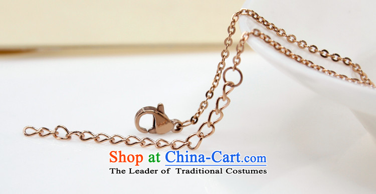 Polycom Steel Korean love mahogany and pendants necklace couples Jewelry Ornaments rose gold-plated steel chain sent girlfriend clavicle birthday gift promotion in the China Super Honey Love Picture, prices, brand platters! The elections are supplied in the national character of distribution, so action, buy now enjoy more preferential! As soon as possible.
