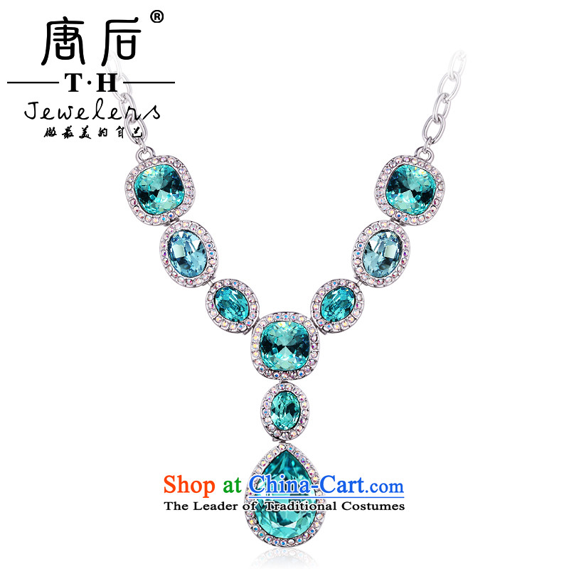 The TH western style banquet after Tang Kit necklace Austria Artificial Crystal Pendant pendants long chain as China multimedia, Sheng Huaren after Tang (TH) , , , shopping on the Internet