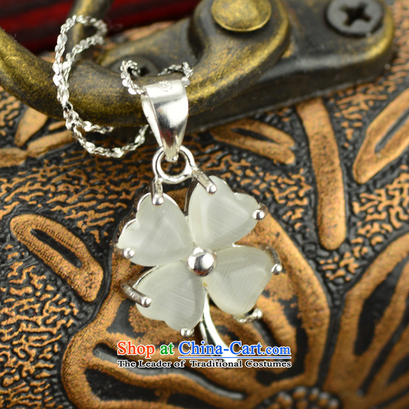 The East China wind Ms. Yun Ling 925 silver necklace parquet cat's-eye pendant (grants), silver necklace east spirit to , , , shopping on the Internet