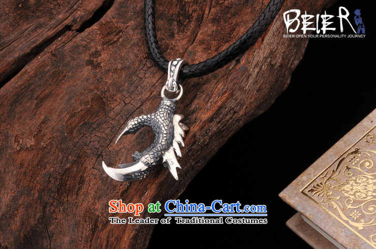 Beier 925 Silver Dragon Chinese zodiac claws pendants despot men necklace male and pendants A0609 default input titanium steel bead chain picture, prices, brand platters! The elections are supplied in the national character of distribution, so action, buy now enjoy more preferential! As soon as possible.