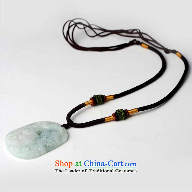 The Feng Shui Kok Jade the Chinese zodiac tiger pendants Feng Shui House necklace, , , , shopping on the Internet