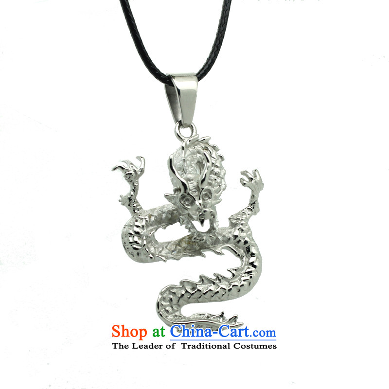 On drunken China wind dragon ruyi despot men pendants Stylish ornaments with Korean men's men and money with links to chain 4.5-60s PU twine