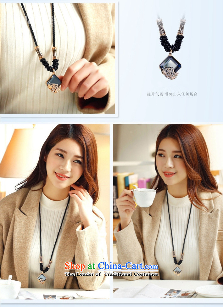 Gigi Lai Korea retro mai champagne color crystal sweater length of chain necklace going back to the ancients picture, prices, brand platters! The elections are supplied in the national character of distribution, so action, buy now enjoy more preferential! As soon as possible.