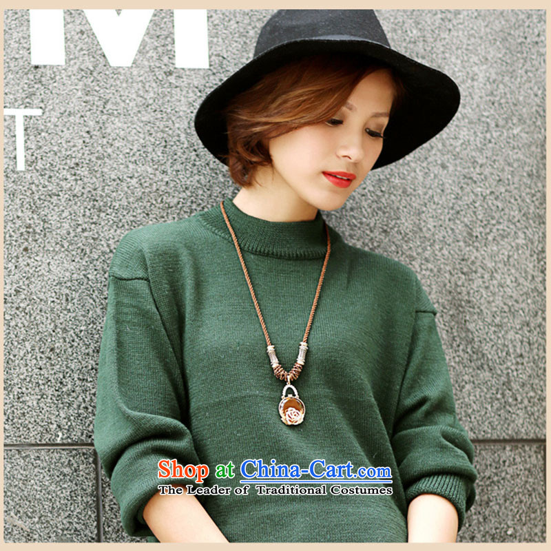 Gigi Lai Korea retro mai champagne color crystal sweater length of chain necklace, going back to the ancients Gigi Lai (maizi Mai) , , , shopping on the Internet