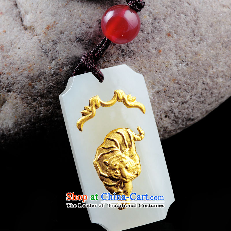 LovewaitingHetian Jade gold jade lovers the twelve animals of the Chinese zodiac tiger ,lovewaiting,,, pendants shopping on the Internet