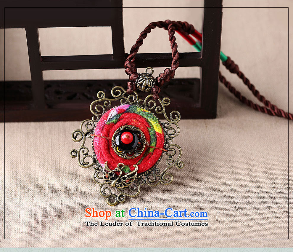 Gangnam-gu rainy necklace handcrafted accessories from long ethnic sweater chain hang Hang Chain China wind fabrics pendants women own length (Please Be Specific size picture message), prices, brand platters! The elections are supplied in the national character of distribution, so action, buy now enjoy more preferential! As soon as possible.
