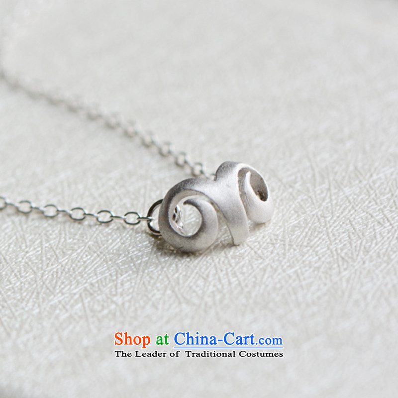 Martin Lee of the Chinese zodiac silver clavicle gamma sheep link national wind necklace rings Necklace