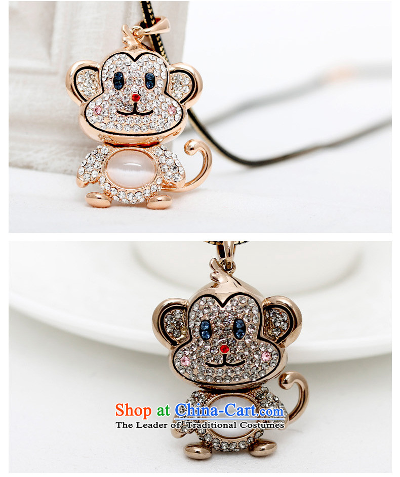 Shuttle Van Gogh, Korean Chinese Zodiac Monkey sweater link lovely cat's-eye pendant autumn and winter Ms. accessories from long black gold image link, prices, brand platters! The elections are supplied in the national character of distribution, so action, buy now enjoy more preferential! As soon as possible.