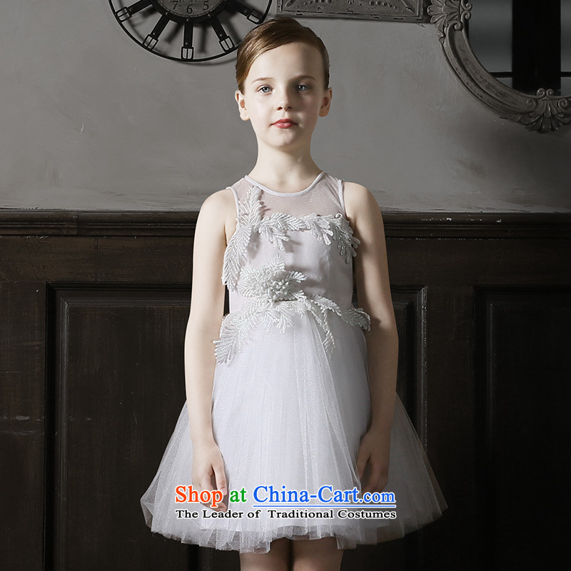 Love of 2015 New Children Ko Yo dress skirt girls princess skirt girls dress bon bon skirt will White 120