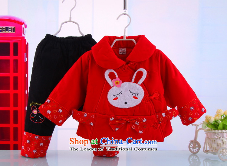 New Year with winter female babies children pure cotton Tang dynasty women baby girl pure cotton Tang Kit installed two 5131 Red 73 pictures, prices, brand platters! The elections are supplied in the national character of distribution, so action, buy now enjoy more preferential! As soon as possible.
