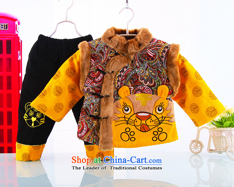 35f088906 Winter clothing New Year Children sets new baby Tang dynasty winter ...