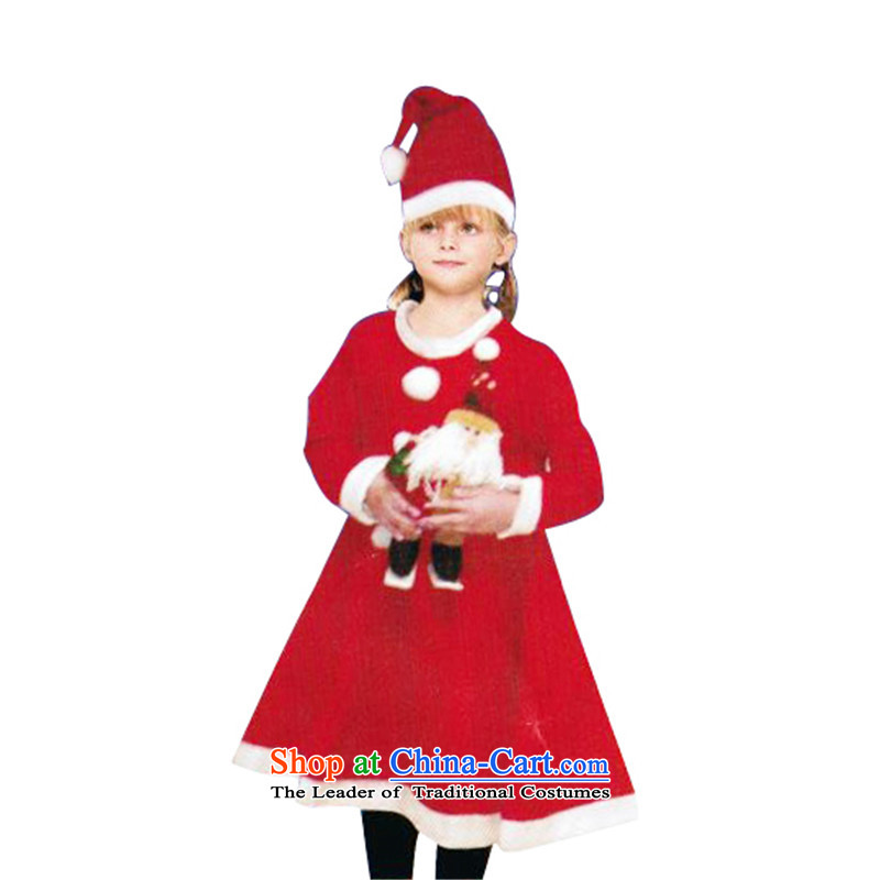 2015 girls wearing children Christmas Yi Christmas hats skirt Package CHRISTMAS girls clothing