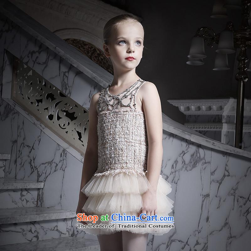 Love of Ko YoGirl New 2015 princess skirt cake skirt children performances skirt dress dress champagne color160