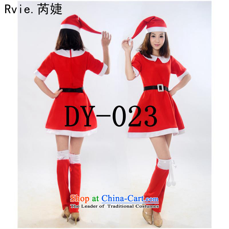 Europe and the female adult clothing style Christmas Christmas skirt costumes and Santa Claus costumes scouring pads, L(170-180) Kim