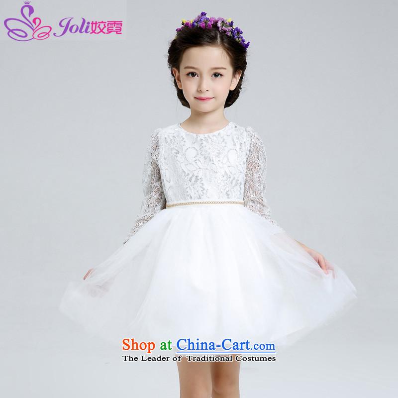 Ngai Children Dance service every princess skirt dress skirt girls dress dances will serve girls show Services White150