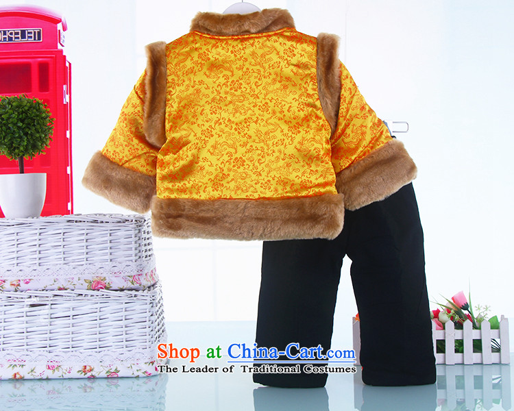Tang Dynasty children boy New Year Two Kits 1-2-3-year-old infant winter coats baby cotton waffle pack red聽100 pictures, prices, brand platters! The elections are supplied in the national character of distribution, so action, buy now enjoy more preferential! As soon as possible.