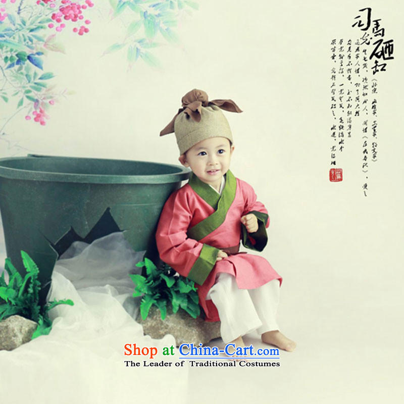 Children 61 costumes and new costume children Sima Guang Shu Tong against cylinder kit children will Red5.30