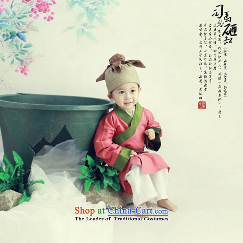 Children 61 costumes and new costume children Sima Guang Shu Tong against cylinder kit children will Red聽5.30