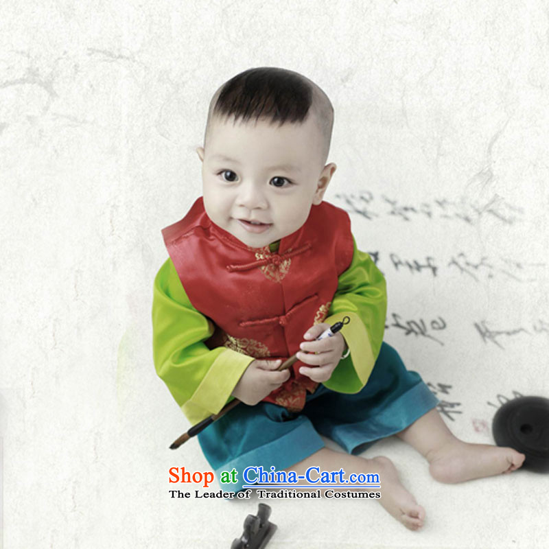 Child photography services photo building age boy photographed dress a bucket of Learning Kit male baby red�140cm