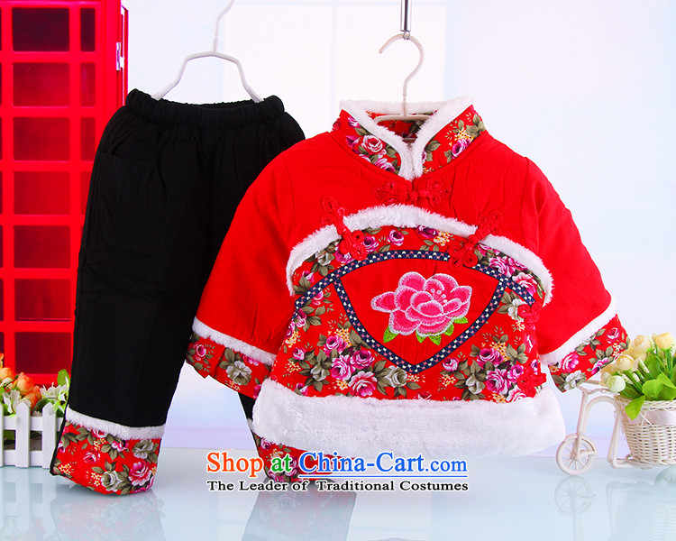 The girl child with cotton-tang China wind-old baby girl, Tang dynasty 0-3 years female babies thick winter jackets with the red 120 pictures, prices, brand platters! The elections are supplied in the national character of distribution, so action, buy now enjoy more preferential! As soon as possible.