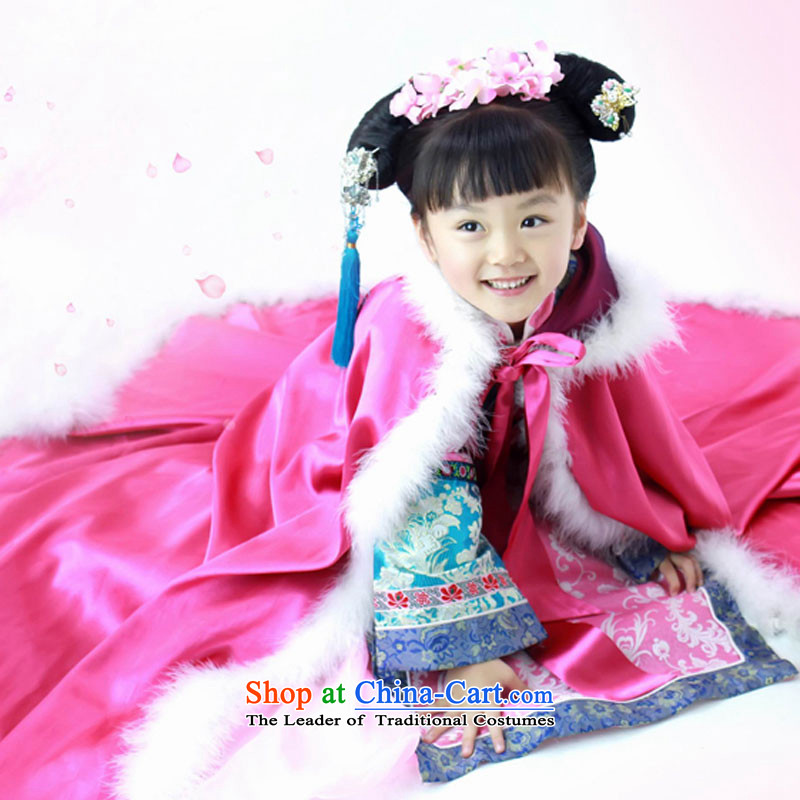 Children in children's classical performances Shu Tong Service Kit Huan Sweetheart of a child 61 stage performances in red聽below isocenter services