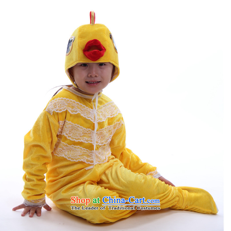 Children animal clothing early childhood Omiya Ardija ants chicken hen duck penguin frog Sorok performances showing long-sleeved clothing dance chicken 120cm(120 recommendations 108-117 Kit Height