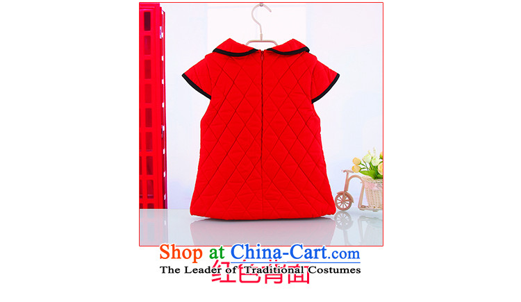 The new winter girls warm thick Tang dynasty qipao 1-2-3-4-year-old female New Year holiday celebration for the Baby qipao Tang dynasty pictures, 110 red in the price, brand platters! The elections are supplied in the national character of distribution, so action, buy now enjoy more preferential! As soon as possible.
