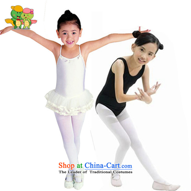 The autumn and winter, children in gross, girls trousers socks thick solid brushed trousers, socks baby white socks color L code dance usually it will fit height