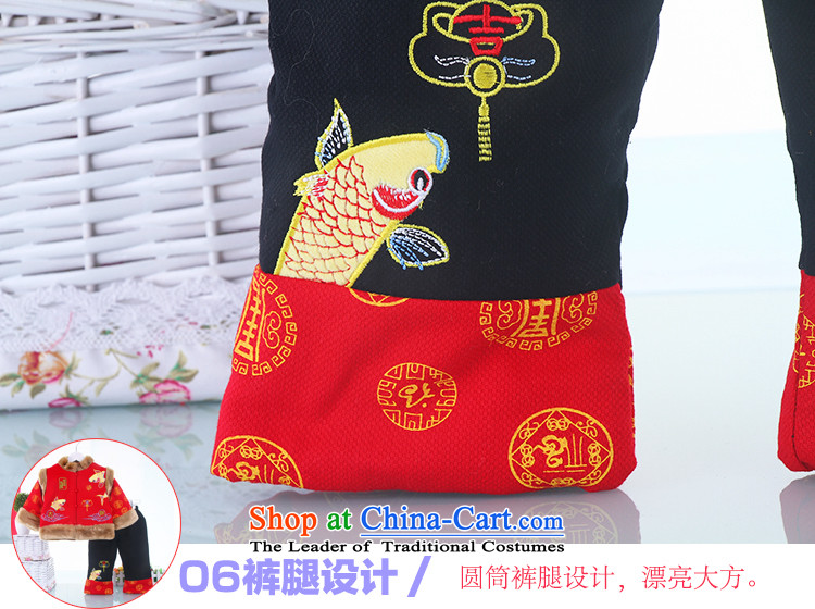 The new baby boy winter of children and of children's wear under the Tang dynasty folder cotton Tang dynasty baby two kits ãþòâ classical New Year with yellow 110 pictures, prices, brand platters! The elections are supplied in the national character of distribution, so action, buy now enjoy more preferential! As soon as possible.