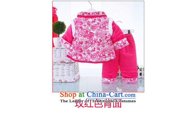 The baby girl Tang dynasty fall inside the shirt thoroughly New Year Tang Dynasty Infant Garment children aged 0-1-2-3 Week in red聽90(90) winter robe picture, prices, brand platters! The elections are supplied in the national character of distribution, so action, buy now enjoy more preferential! As soon as possible.