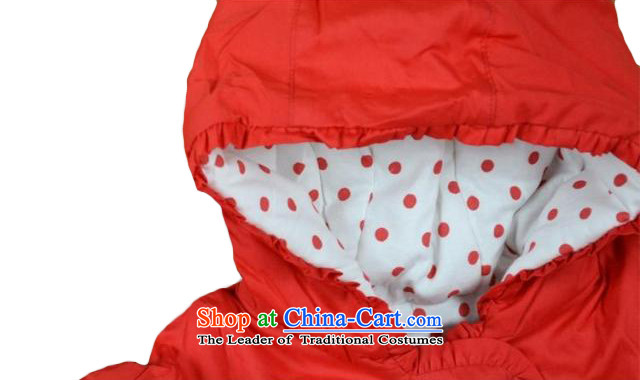 b0fed5390 The baby girl infants Tang dynasty winter coat winter clothes 3-6-12 ...