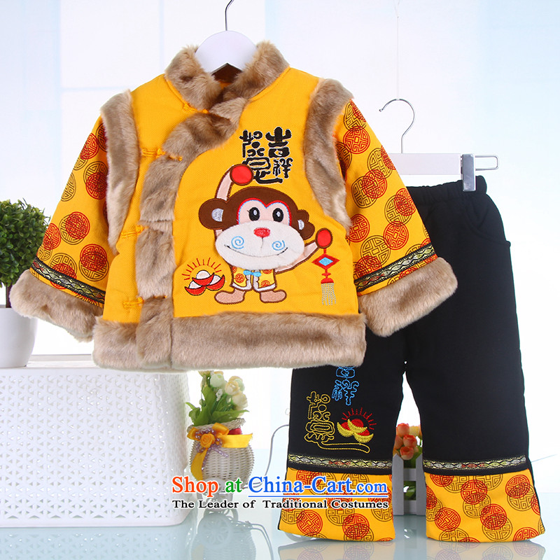 Tang Dynasty children boy with your baby years New Year will dress child care infant Tang dynasty winter coat kit red 120, a point and shopping on the Internet has been pressed.
