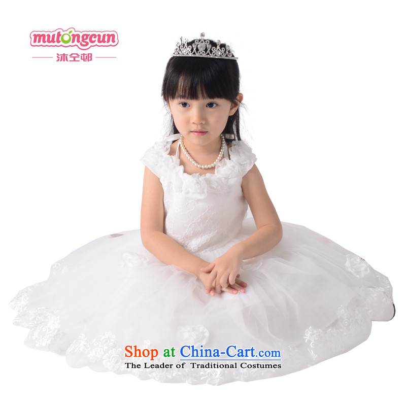 Bathing in the staff of the estates performances will children dress princess skirt Flower Girls skirt girls dresses age lace dress 025 100cm
