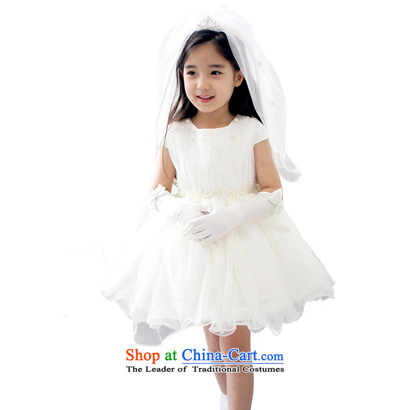 Adjustable leather case package children dress skirt princess skirt Flower Girls skirt wedding dress bon bon skirt Package 2 (135cm/6