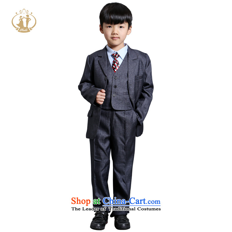 Tien Po NIMBLE boy children's wear upscale dress suits export child Flower Girls suit coats piano performances with Figure?64 code suitable for around 150cm tall
