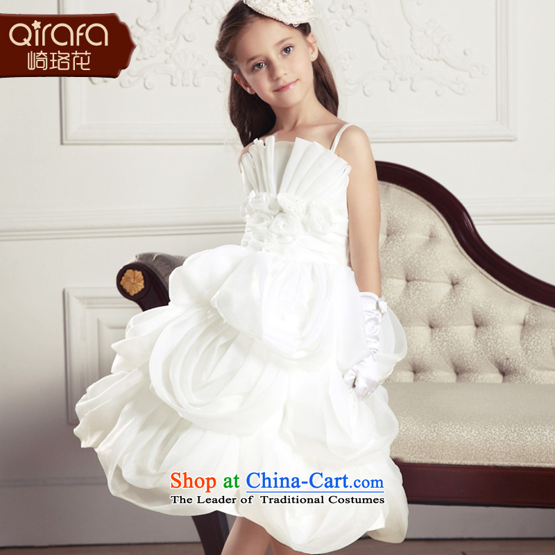 The Lhoba nationality QIRAFA children spend Miyazaki Princess skirt dress skirt wedding dress princess skirt girls dress dresses Summer?2015 new children's wear white?120 code 13080