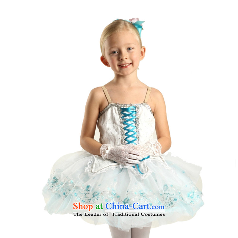 Adjustable leather case package children dance exercise clothing Latin dance wearing picture color聽185cm