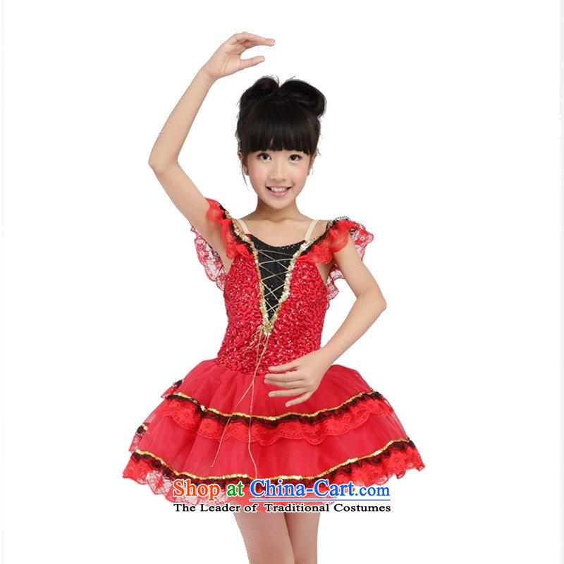 Adjustable leather case package game skirt exercise clothing stage costumes will dance skirt 185cm red