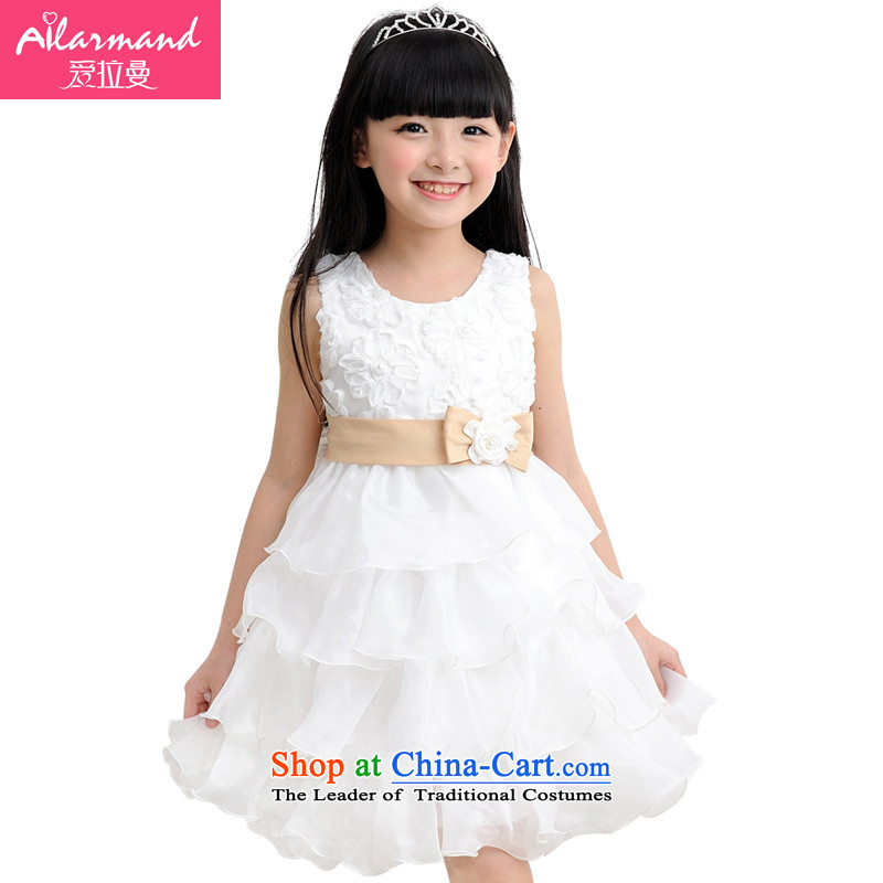 Love Rahman _ailamand_ 2015 Summer New girl children with a bow tie princess wedding gauze dress dresses聽1056聽new large bow tie gold behind聽100 _a small code_