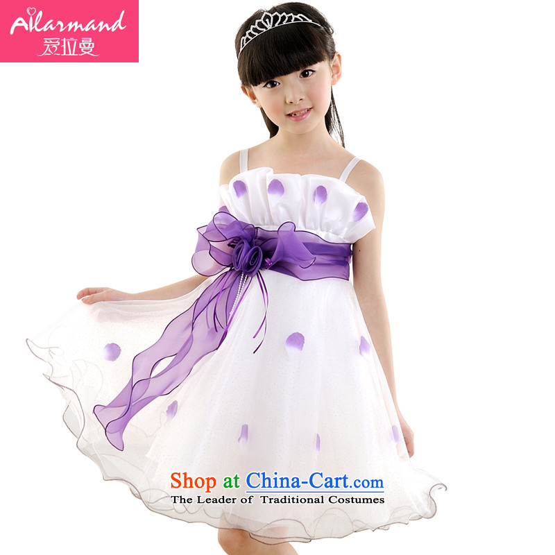 Love Rahman 2015 Summer Flower Girls dress girls children princess skirt Flower Girls skirt dresses choral clothing bon bon skirt celebrate Children's Day Gifts petals dress purple聽140