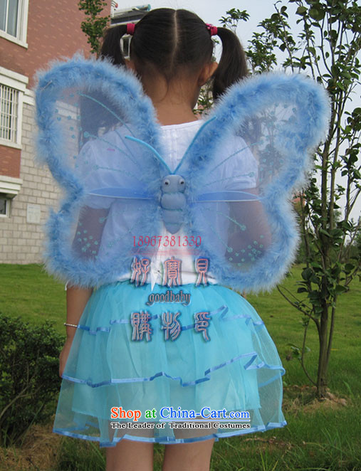 Halloween children's clothing children dance performances props early childhood services skirt butterfly wings four angels Kit Blue Photo, prices, brand platters! The elections are supplied in the national character of distribution, so action, buy now enjoy more preferential! As soon as possible.