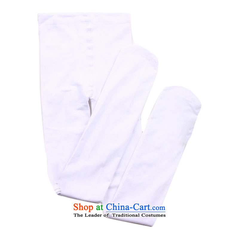 Children Dance Socks Children Dance socks, stockings girls practicing socks Latin dancing ballet TZ5108-0079 SOCKS 3 double trousers with white 2-6