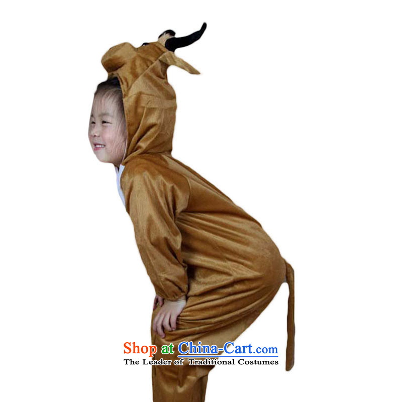 Children animal costumes theatrical performances cartoon dress clothes聽TZ5108-0076 animal聽scalped situated XL Height
